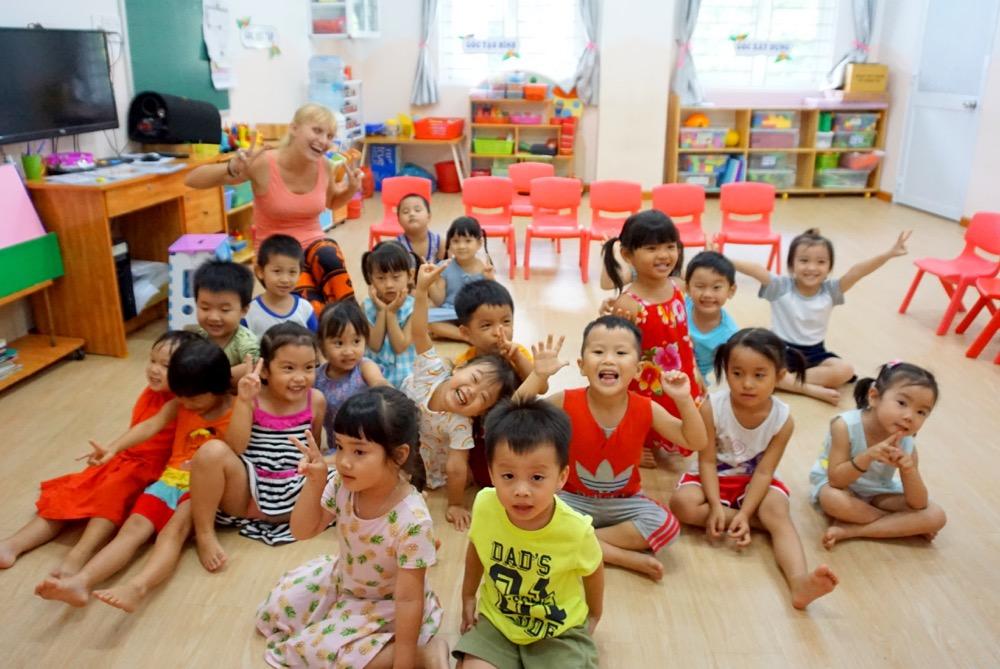uczenie angielskiego w Wietnamie