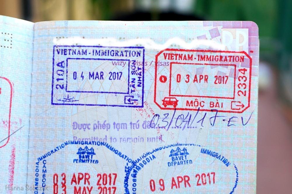 e-wiza do wietnamu