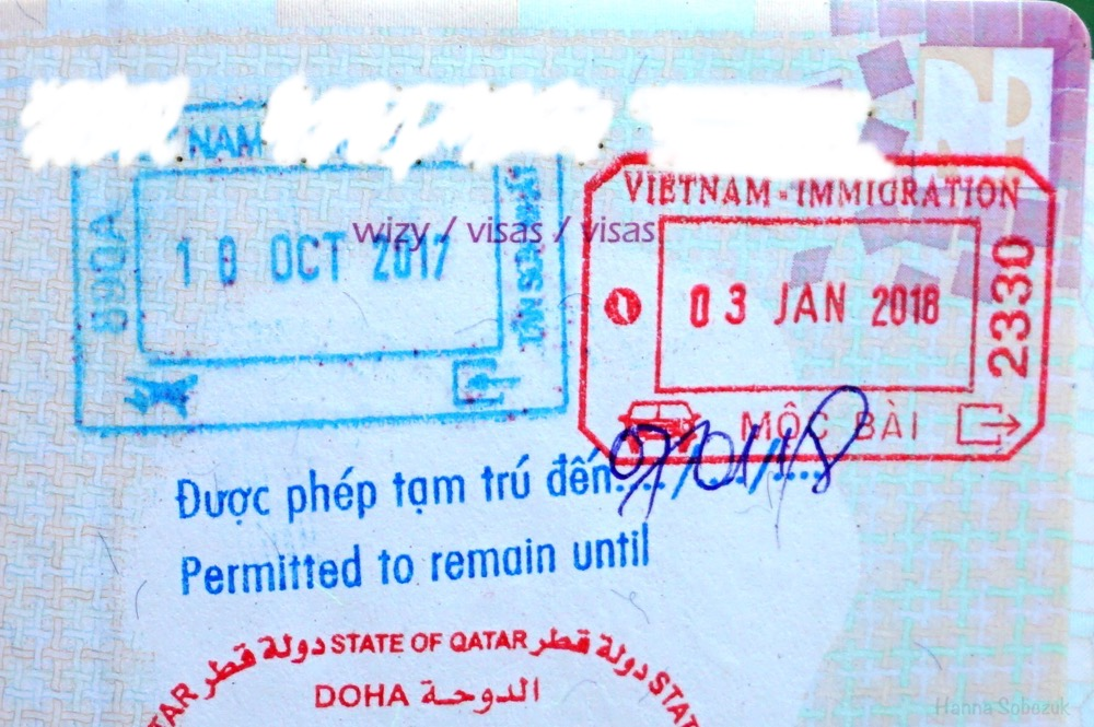 wiza do wietnamu na lotnisku