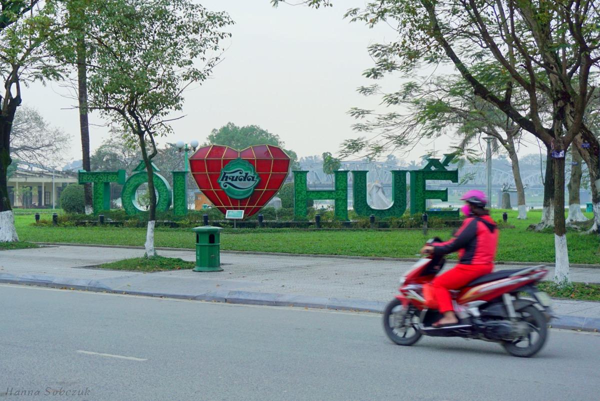 hue wietnam gdzie spać
