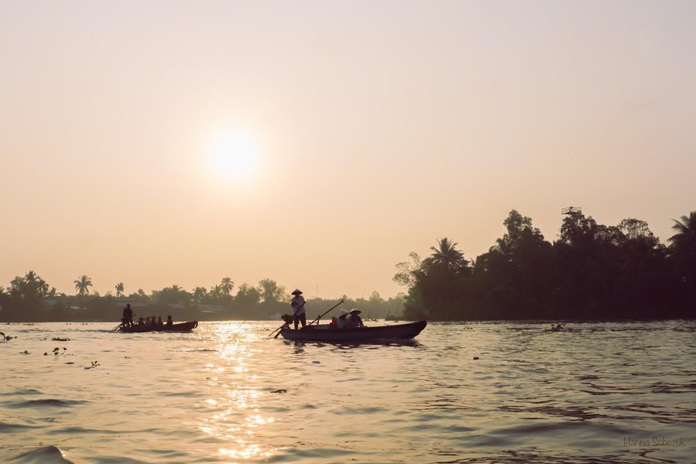 delta mekongu pływający targ
