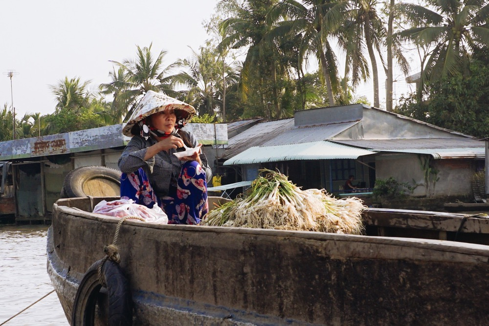 delta mekongu co zjeść