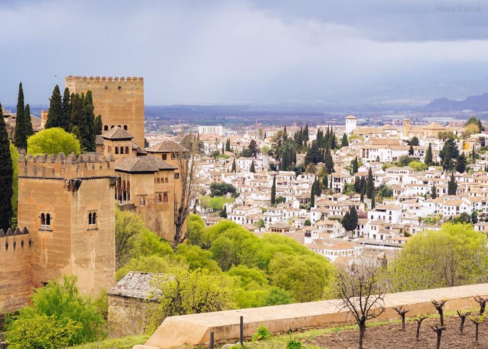 zwiedzanie bilety alhambra