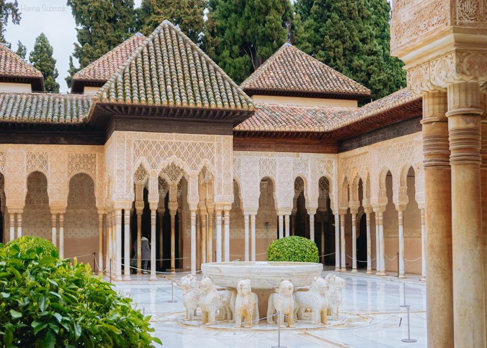 pałac nasrydów alhambra