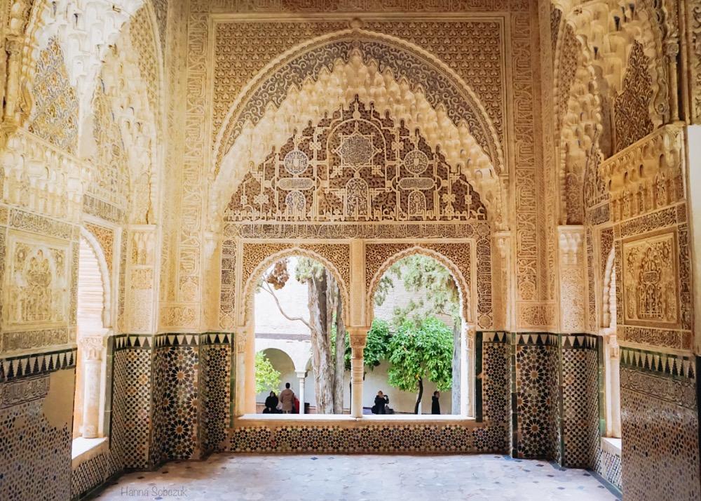 alhambra ornamenty stiuki