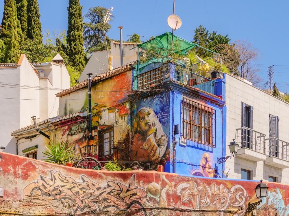 grenada realejo murale street art
